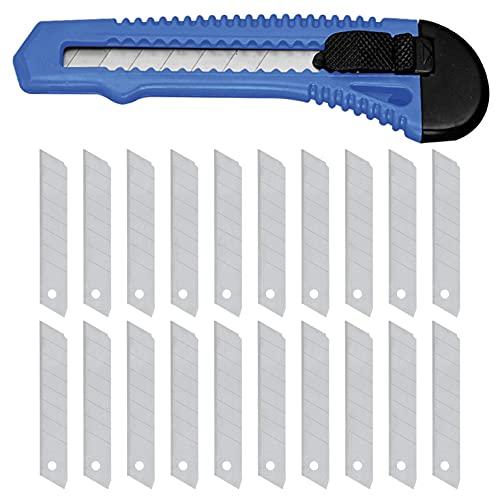Cuttermesser 18 mm mit passenden 20 x...
