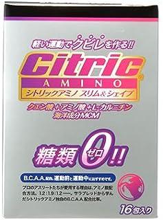メダリスト?ジャパン シトリックアミノ スリム&シェイプ ベーシックJP (6g×16包入) クエン酸 アミノ酸 糖類ゼロ