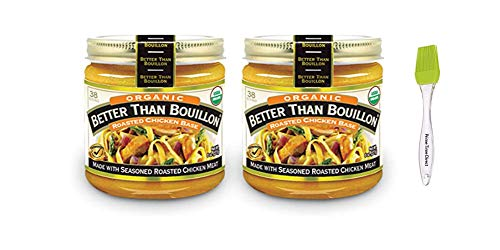 Better Than Bouillon Organic Chicken Base Bouillon 8 oz (Pack of 2)