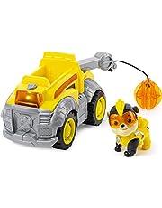 PAW Patrol PAW Patrol Mighty Pups Super Paws samochód plac budowy z figurką zdrapaną (podstawowy tematyczny pojazd)