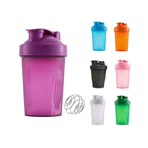 400 ML Shaker Bottle, Protein Shaker Cup, Container Storage for Protein or Supplements, Perfect Gym Fitness Gift
