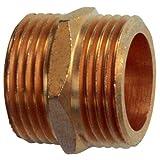Cornat FLOR92760 - Machón doble (latón, 3,18 cm)
