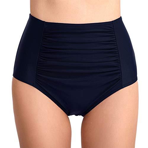 ZYBC Bikini-Badeanzug-Slip Für Damen Mit Hoher Taille Und Geripptem Bikinioberteil, Unterhemden, Tankini-Oberteile Und Rash Guard-Tops