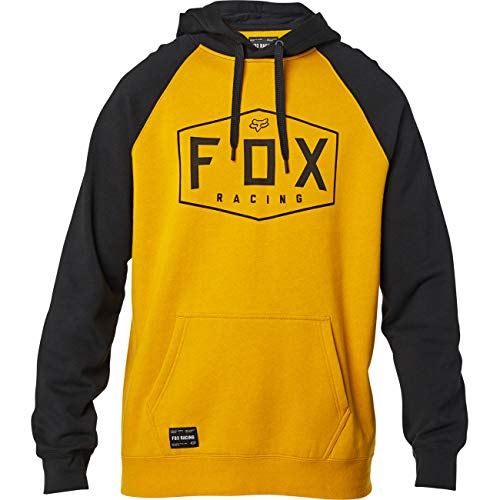 Fox Crest Pullover Fleece Mustard, 440, L (25953)