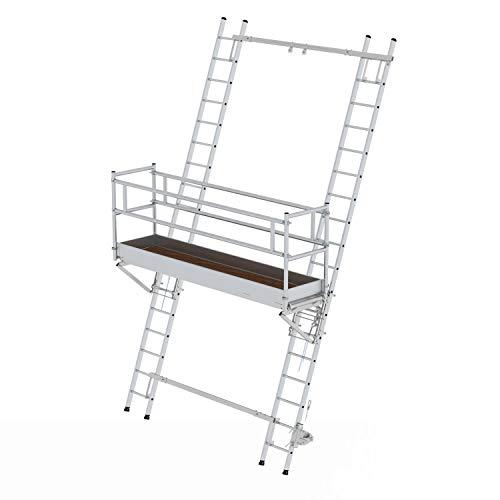 Aluminium-Leiterbühne, Bühnenlänge 3,0 m