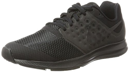 Nike Downshifter 7 (GS), Zapatillas de Entrenamiento Hombre, Negro (Black/Black 004), 36 EU
