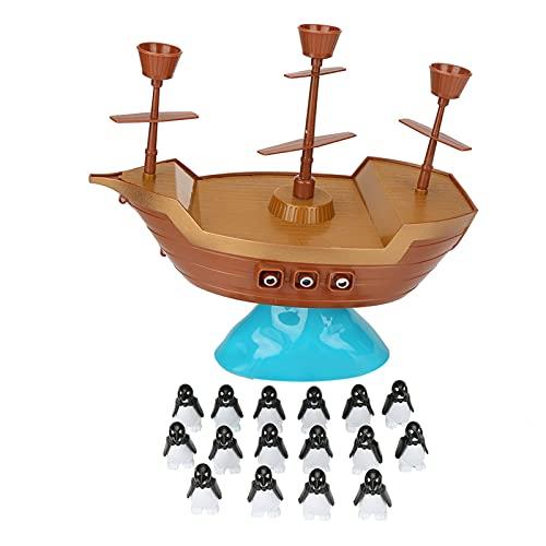 Juego de juguetes interactivos de interacción niño-padre para muchas personas Juego de equilibrio de barco pirata de escritorio Juguete para niños para interacción entre padres e hijos para