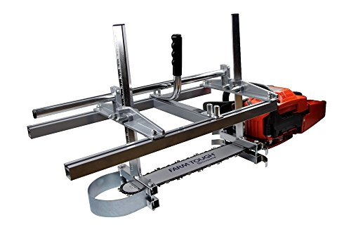 Zchoutrade Portable Chainsaw Mill 14-36 Inch Portable Aluminum Steel Mig Welding Saw Mill 36 Inch Planking Lumber Cutting Bar