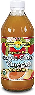 Dynamic Health Organic Raw Apple Cider Vinegar With Mother  16 oz (473ml) [並行輸入品]