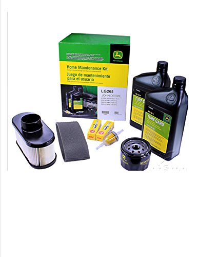 John Deere Maintenance Kit X300, X320, X324, X360, X500, X530, X534, Filters, Oil Spark Plugs,LG265