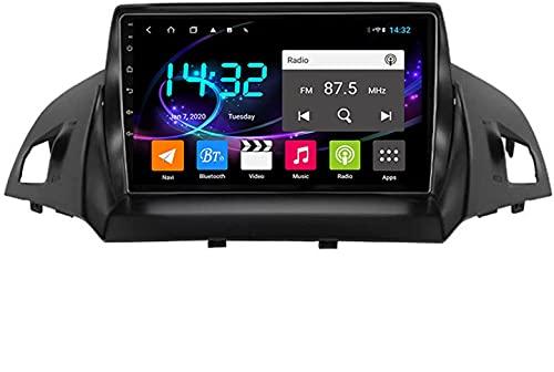 MISSLYY Auto Stereo Satellitare Navigatore per Ford Kuga Escape C-Max 2013-2017, Autoradio unità Principale Stereo Touchscreen Multimediale Bluetooth Giocatore 10inch (4g+WiFi)