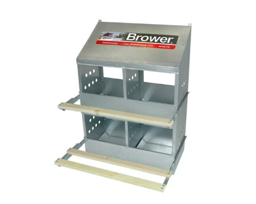 Brower 404B 4-Hole Poultry Nest
