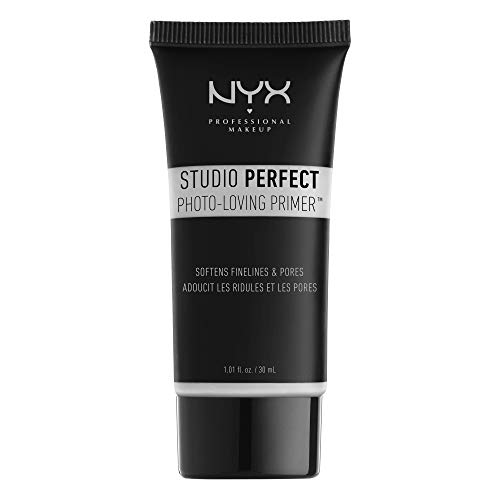 NYX PROFESSIONAL MAKEUP Base de teint Studio Perfect, Teint Uniformisé, Action Ciblée Pores et...