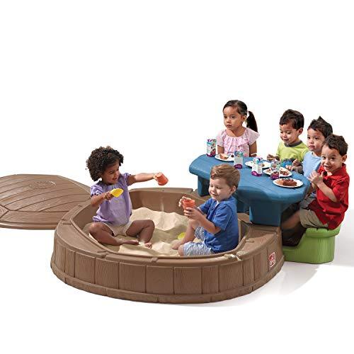 Step2 Naturally Playful Summertime Play Center 57 Ft. W Octagon Sandbox