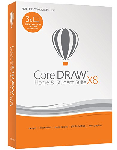 CorelDRAW Home & Student Suite X8 for PC (Old Version)