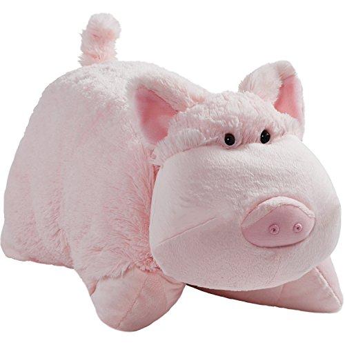 pillow pets pet toys Pillow Pets Originals, Wiggly Pig, 18