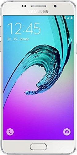Samsung Galaxy A5 (2016) Smartphone (5,2 Zoll (13,22 cm) Touch-Bildschirm, 16 GB Speicher, Android 5.1) weiß