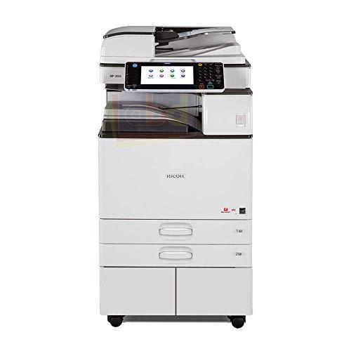 Ricoh Aficio MP 5054 Tabloid/Ledger-Size Black and White Laser Multifunction Copier - 50ppm, Print, Scan, Copy, Network, Auto Duplex, 4 Trays, Stand