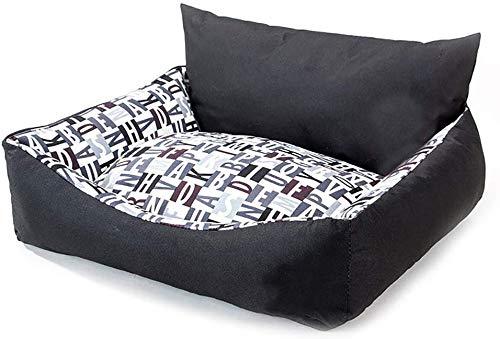CVXCVCBCG Zwart-B sofa, huisdier-bed-warm-kat en hond, capaciteit in de winter afneembaar en wasbaar huisdier-nest met afneembare bekleding.