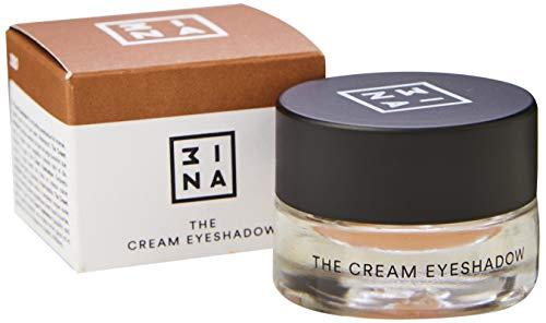 3ina Makeup - Vegan - Cruelty Free - The Cream Eyeshadow 320 - Wasserdicht - 24H Lidschatten Glitzer - Creme-Lidschatten - Metallisch - Langanhaltend - Taupe