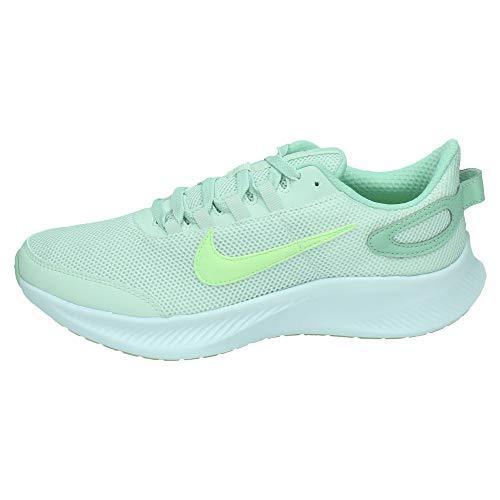 Nike Run All Day 2, Walking Shoe Womens, Aura Picea/Voltio Ligero/Escarcha Pistacho, 38 EU