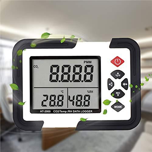 LAYBAY Kohlendioxid Co2-detektor, Intelligenter Luftqualität Messgerät Mit Temperatur-feuchtigkeits-anzeige 0~9999ppm