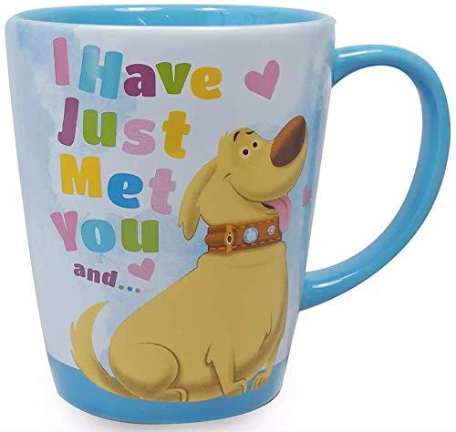 Disney Parks Up I Have Just Met You and I Love You Dug Ceramic Coffee Mug