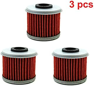 Fengqing 3 Stück Ölfilter for Honda TRX450R TRX450ER CRF450X CRF450R CRF250X CRF250R CRF150R CRF150F CRF 150F 150R 150RB 250R 250X 450R