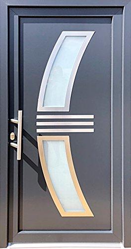 Nr.1 Eingangstür, Türen, Tür,Haustür 100 x 210 cm,Wohnungstür,Kunststoff Tür,Hauseingangstür,Tür,Innen L