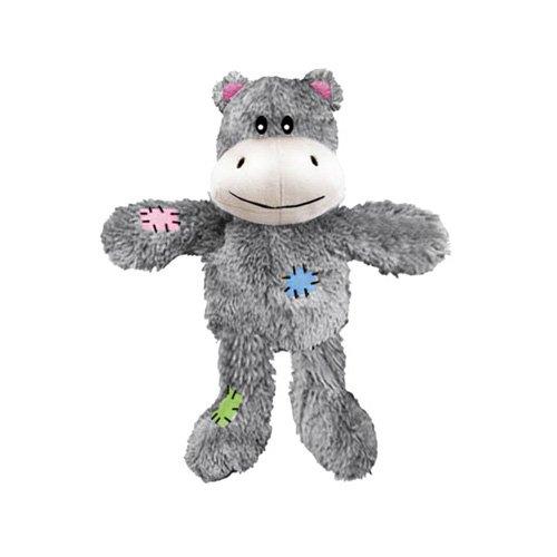 Europet Bernina 304-427736 Hundespielzeug aus Plüsch Knot Nuts Hippo, 26 cm
