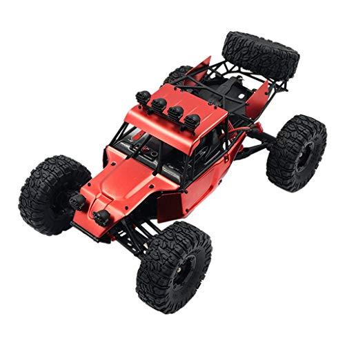 Momola 70km/h Ferngesteuertes Auto, FY03 2.4G 4WD Hochgeschwindigkeits Geländewagen Upgrade im Maßstab 1:12 Brushless RC Car,Auto Spielzeug für Kinder Jungen Geschenk 40 x 27,5 x 20 cm (Rot)