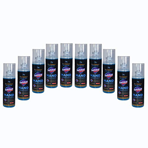 Divyamrut Hand Sanitizer 100ml 75% alcohol based 99% germ kill.Pack of 10