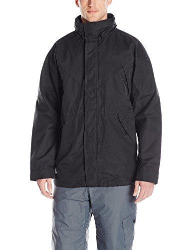Colorado Clothing Men's Summit Anorak Shell Jacket, Black, X-Large