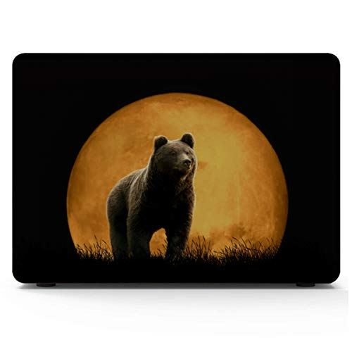 A1707 Macbook Pro Case Brown Bear Standing In The Wood Protective Macbook Pro Case Hard Shell Mac Air 11'/13' Pro 13'/15'/16' With Notebook Sleeve Bag For Macbook 2008-2020 Version