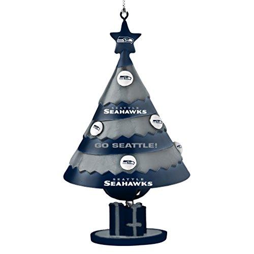 NFL Seattle Seahawks Tree Bell Ornament