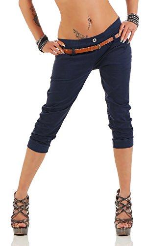 Danaest Damskie spodnie Capri (624)
