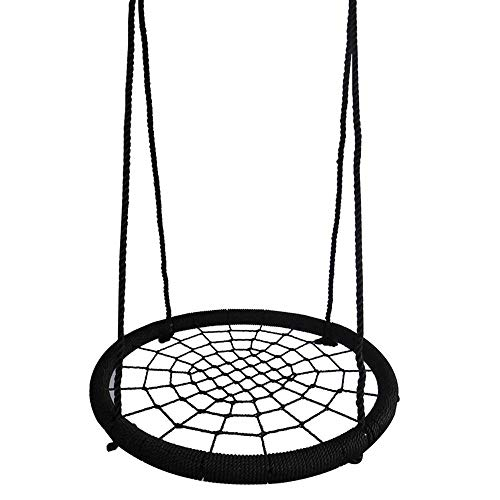 Zryh Round Net Swing Chair Children Kids Adults Pod Swing Seat Hammock Hanging Chair Tent Indoor and Outdoor with Hook and Rope