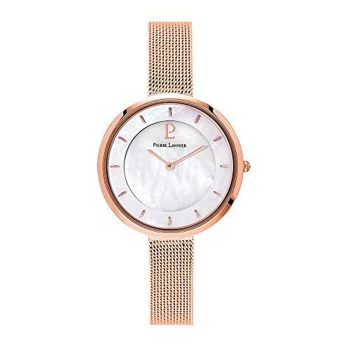 [ピエールラニエ] Pierre Lannier 腕時計 リバティウォッチ シェル メッシュベルト P076G998 レディース [...