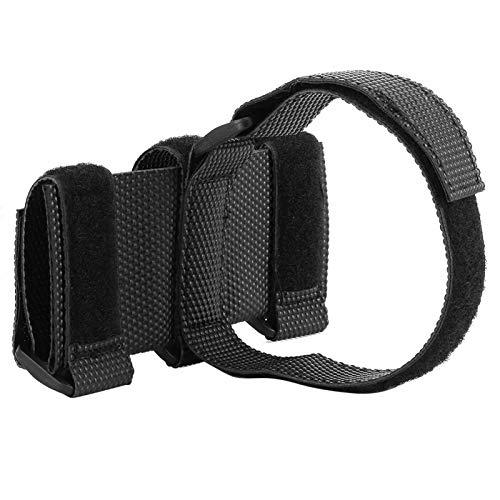 DAUERHAFT Anti‑Slip Bluetooth Speaker Binding Strap Practical,for Motorcycle, Car, Mountain Bike(black)