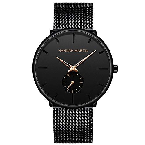Orologi da uomo bracciale in acciaio inossidabile, orologi da uomo di lusso, orologi da uomo di marca, orologi da uomo, moda casual per il processo dell'acqua, designer di orologi da uomo