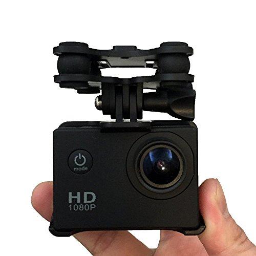 SJ/GoPro/Xiaoyi Kamera Halter mit Gimble/Gimbal für SYMA X8C / X8G / X8W RC Quadcopter Drone RC Hubschrauber Kamera Halterung für Gopro 4/3/3 + Kamera SJ4000 / SJ6000 / SJ7000