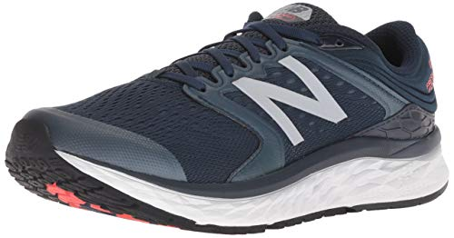 New Balance Men's Fresh Foam 1080 V8 Running Shoe, Navy, 15 D US