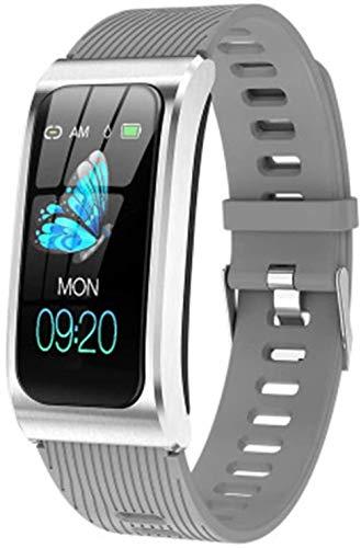 Ak12 Smart Pulsera Reloj de Ritmo Cardíaco Monitor de Sueño Presión Arterial Fitness Tracker Smartband N Fashion/N-G
