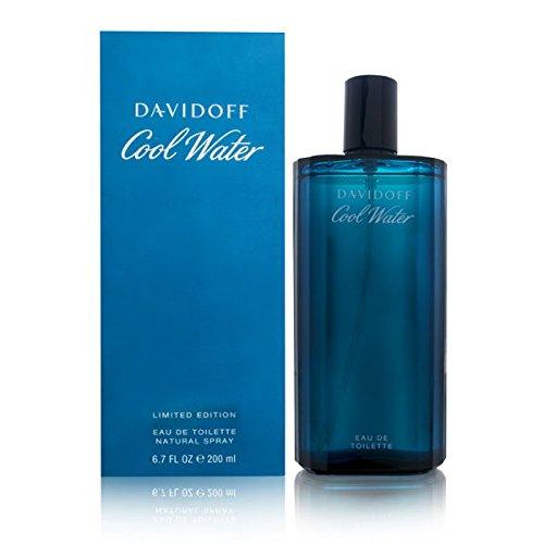 Davidoff Cool Water Edt Spray for Men, 6.7 oz