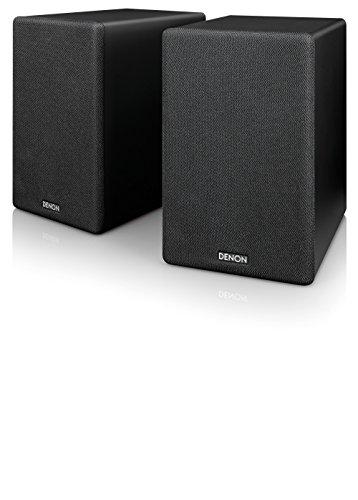 デノン Denon SC-N10 ブックシェルフスピーカー 2ウェイシステム ブラック SC-N10-BKEM