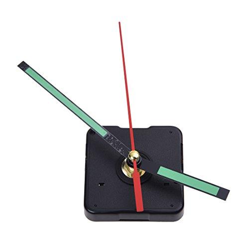 Senmubery Ersatz Schwarz Uhrwerk Zubehoer/Ersatzteile Zeiger Quarz Uhr
