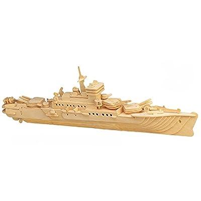 ULT-unite SEA-LAND 3-D Wooden Puzzle
