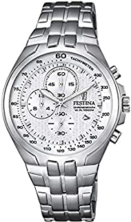 Festina F6843/1 For Men - Analog Casual Watch , Stainless Steel
