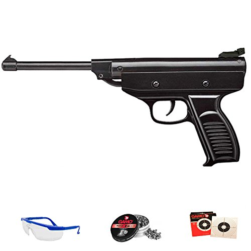 Zasdar Pack Pistola de Muelle (Aire comprimido) Calibre 4.5mm S3 + Accesorios. <3,5J