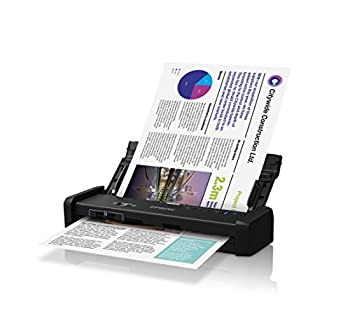 Epson DS-320 Mobile Scanner with ADF  25ppm TWAIN & ISIS Drivers 3-Year Warranty